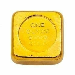 ABC 1oz .9999 Gold Cast Bullion Bar 3