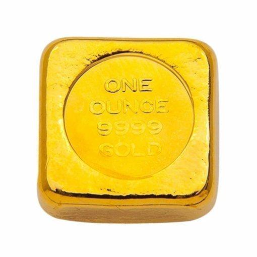 ABC 1oz .9999 Gold Cast Bullion Bar 2