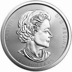 2017 Silver Twin Maples 2oz .9999 Silver Bullion Coin - Maple Leaf - Royal Canadian Mint 3