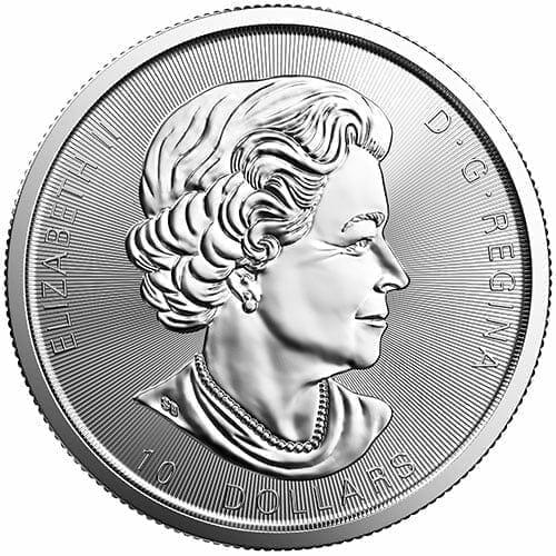 2017 Silver Twin Maples 2oz .9999 Silver Bullion Coin - Maple Leaf - Royal Canadian Mint 2