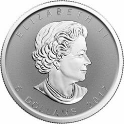 2017 Maple Leaf with Moose Privy 1oz .9999 Silver Bullion Coin - Reverse Proof - Royal Canadian Mint 3