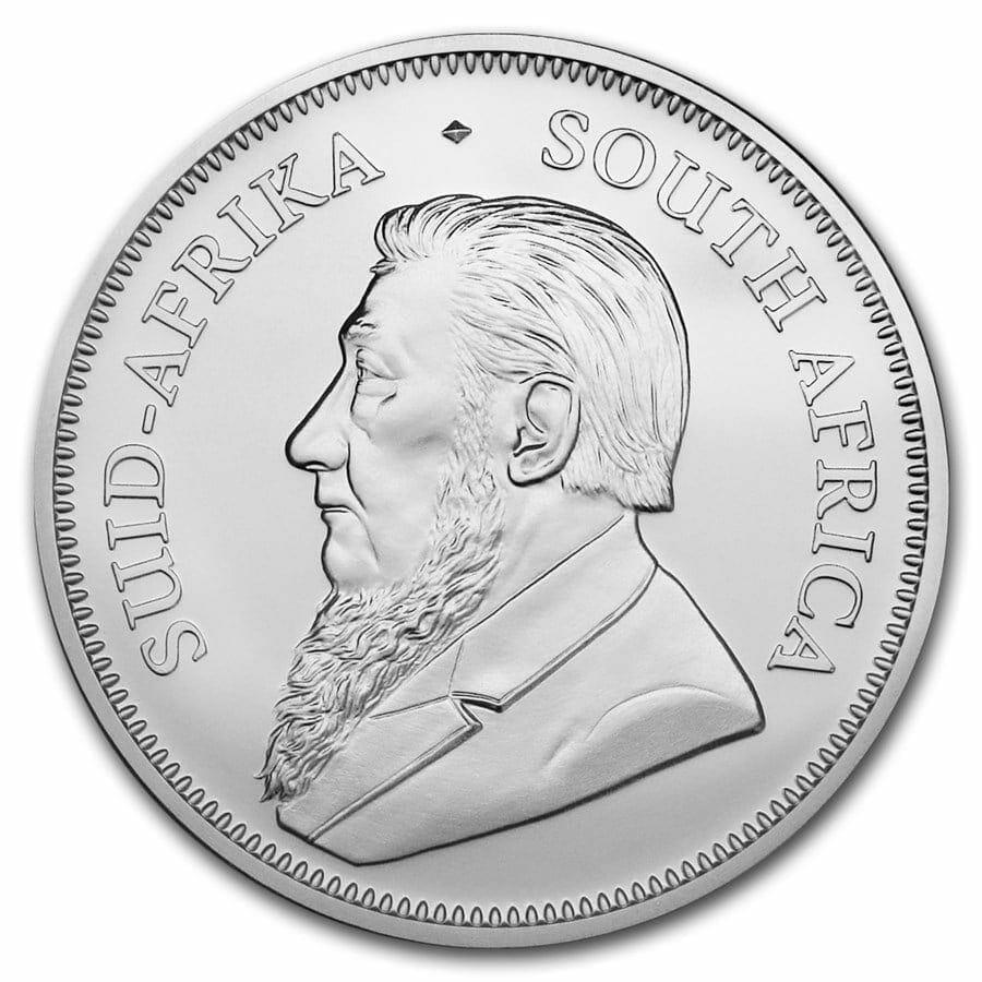 2019 Silver Krugerrand 1oz .999 Silver Bullion Coin 2