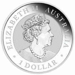 2019 Australian Wedge-Tailed Eagle 1oz .9999 Silver Bullion Coin 5