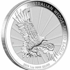 2019 Australian Wedge-Tailed Eagle 1oz .9999 Silver Bullion Coin 4