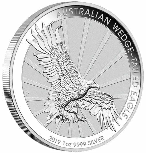 2019 Australian Wedge-Tailed Eagle 1oz .9999 Silver Bullion Coin 2