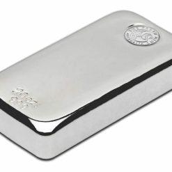 Perth Mint 20oz .999 Silver Cast Bullion Bar 3