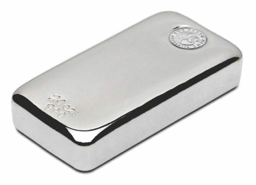 Perth Mint 20oz .999 Silver Cast Bullion Bar 2