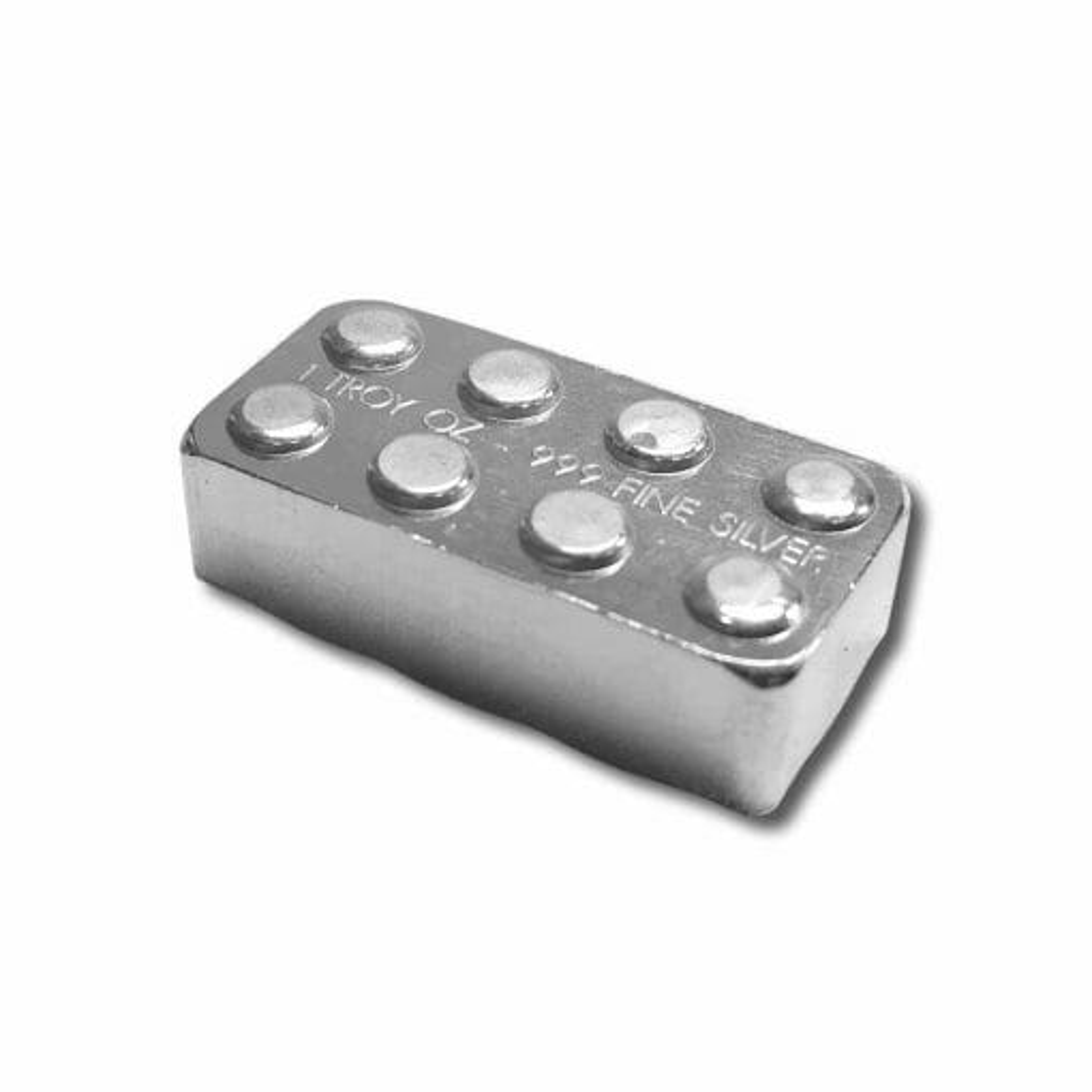 The Starter Kit - 12x 1oz .999 Silver Building Blocks Bars 3