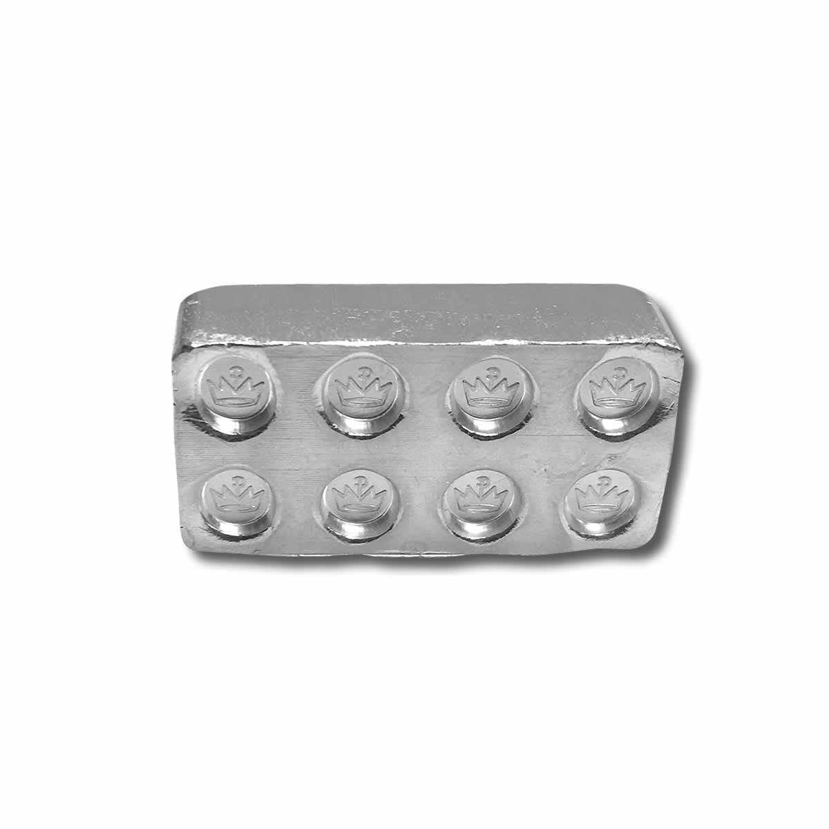 The Starter Kit - 12x 1oz .999 Silver Building Blocks Bars 4