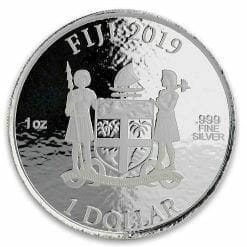 2019 1oz .999 Silver Coca-Cola Santa Holiday Coin - Limited Mintage Collectible 8