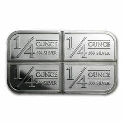 Stagecoach Silver 1oz .999 Silver Bullion Bar - 4 1/4oz Fractional - Northwest Territorial Mint 5