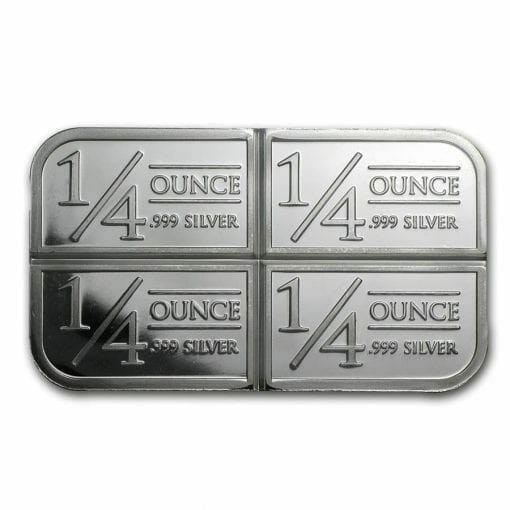 Stagecoach Silver 1oz .999 Silver Bullion Bar - 4 1/4oz Fractional - Northwest Territorial Mint 3