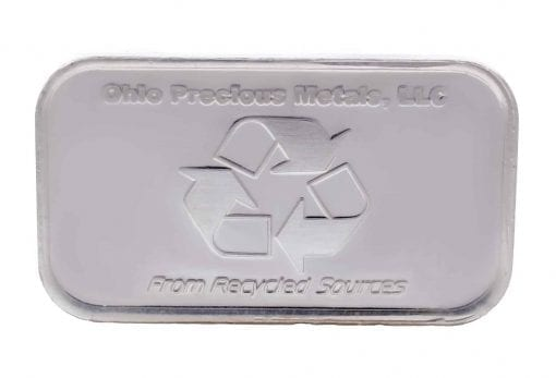 OPM Mushroom 1oz .999 Silver Minted Bullion Bar 2