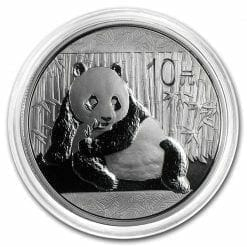 2015 Chinese Panda 1oz .999 Silver Bullion Coin - Toned 5