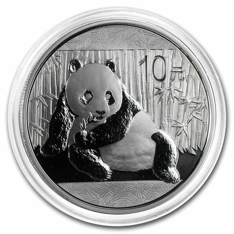 2015 Chinese Panda 1oz .999 Silver Bullion Coin 3