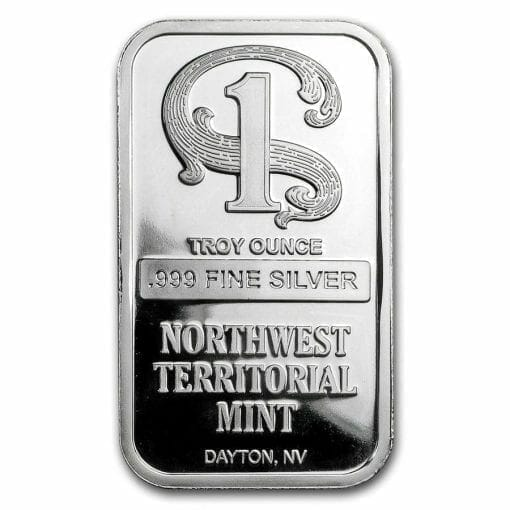 Northwest Territorial Mint 1oz .999 Silver Bullion Bar 1