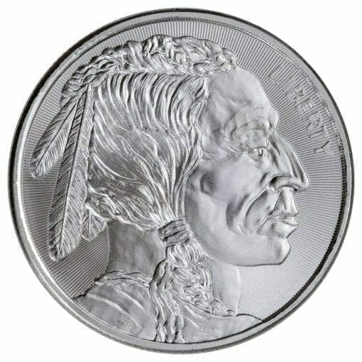 Buffalo / Indian Head 1oz .999 Silver Bullion Coin - Elemetal Mint 1