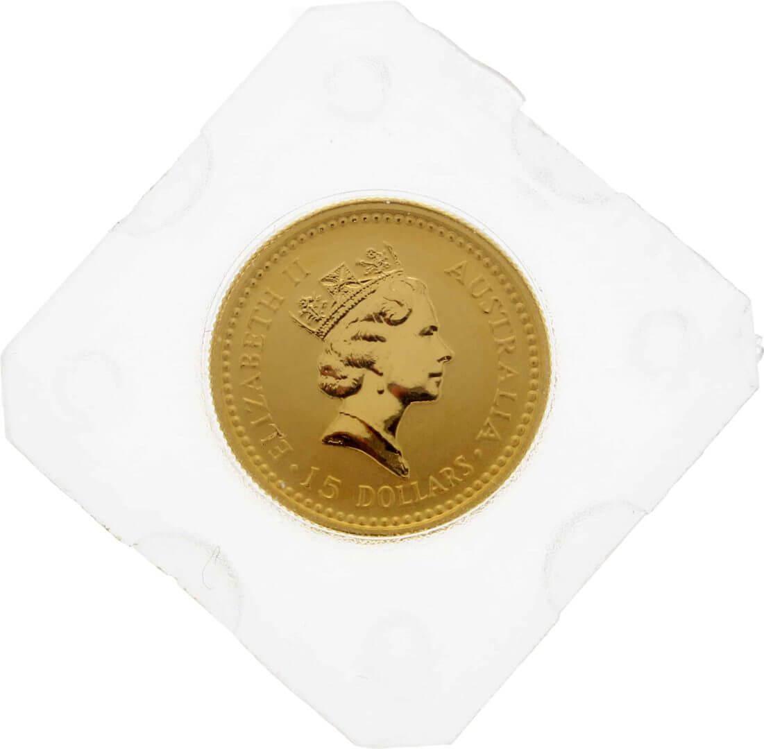 1991 The Australian Nugget Series 1/10oz .9999 Gold Bullion Coin 2