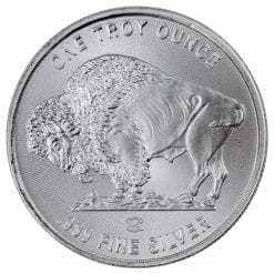Buffalo / Indian Head 1oz .999 Silver Bullion Coin - Elemetal Mint 3