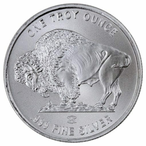 Buffalo / Indian Head 1oz .999 Silver Bullion Coin - Elemetal Mint 2