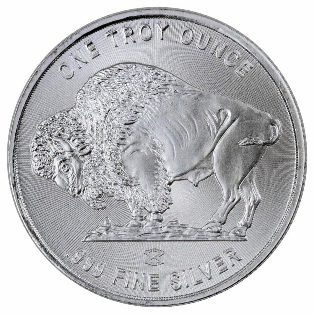 Buffalo / Indian Head 1oz .999 Silver Bullion Coin - Elemetal Mint 3