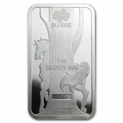 2014 Year of the Horse 1oz .999 Silver Minted Bullion Bar - Lunar Calendar Series - PAMP Suisse 7