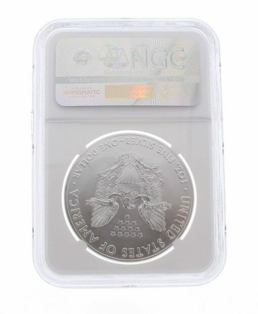 2017 American Eagle 1oz .999 Silver Bullion Coin ASE - NGC MS70 Early Release 2