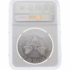 2017 American Eagle 1oz .999 Silver Bullion Coin ASE - NGC MS70 Early Release 3