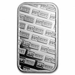 Northwest Territorial Mint 1oz .999 Silver Bullion Bar 3
