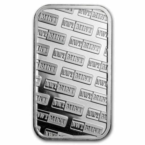 Northwest Territorial Mint 1oz .999 Silver Bullion Bar 2