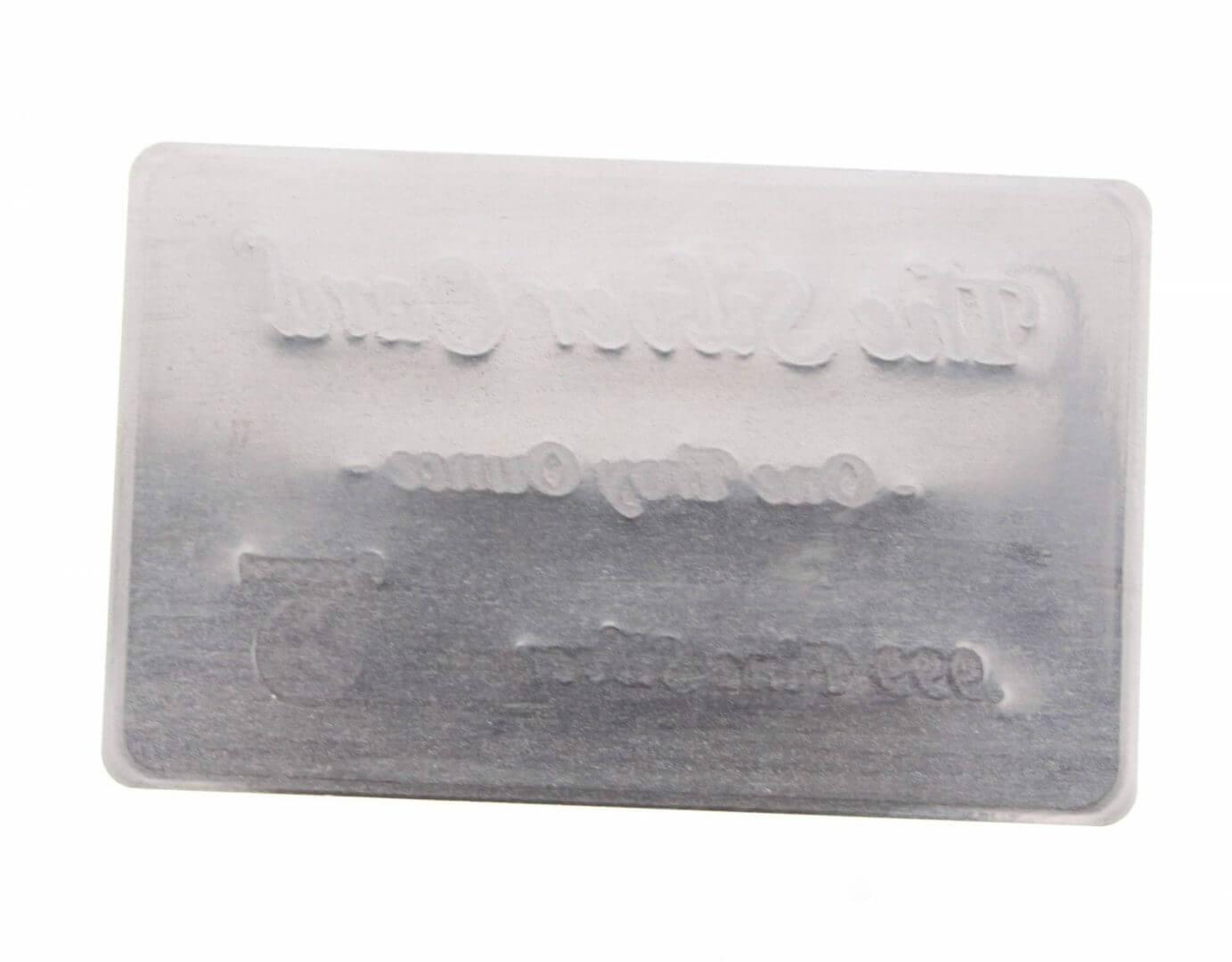 Pyromet 1oz .999 The Silver Card Bullion Bar 3