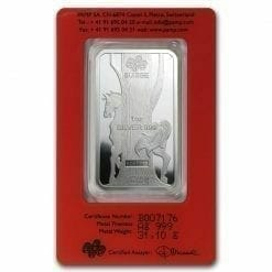 2014 Year of the Horse 1oz .999 Silver Minted Bullion Bar - Lunar Calendar Series - PAMP Suisse 5