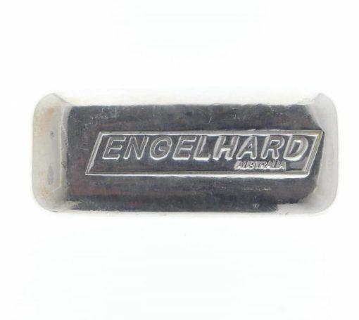 Engelhard 5oz .999 Silver Cast Bullion Bar - Engelhard Australia 1