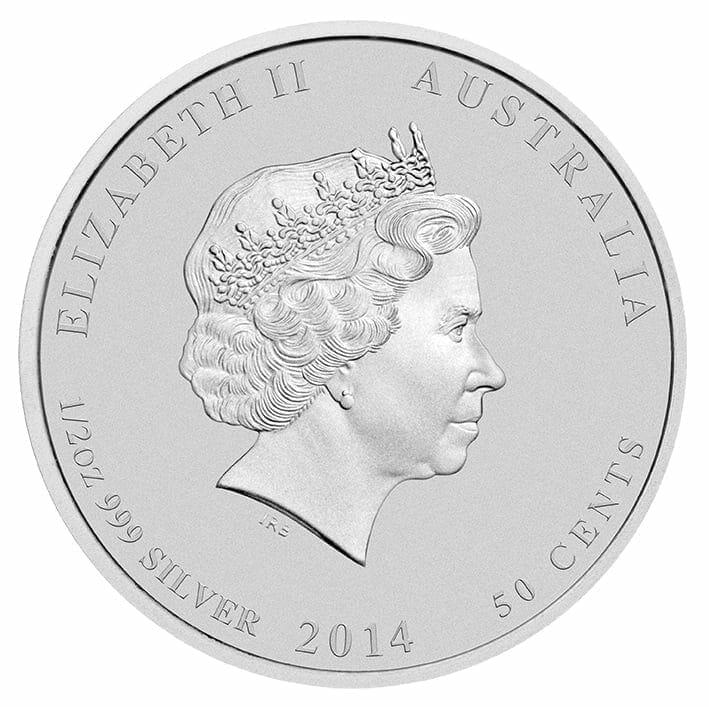 2014 Battle of the Coral Sea 1/2oz .999 Silver Bullion Coin 3