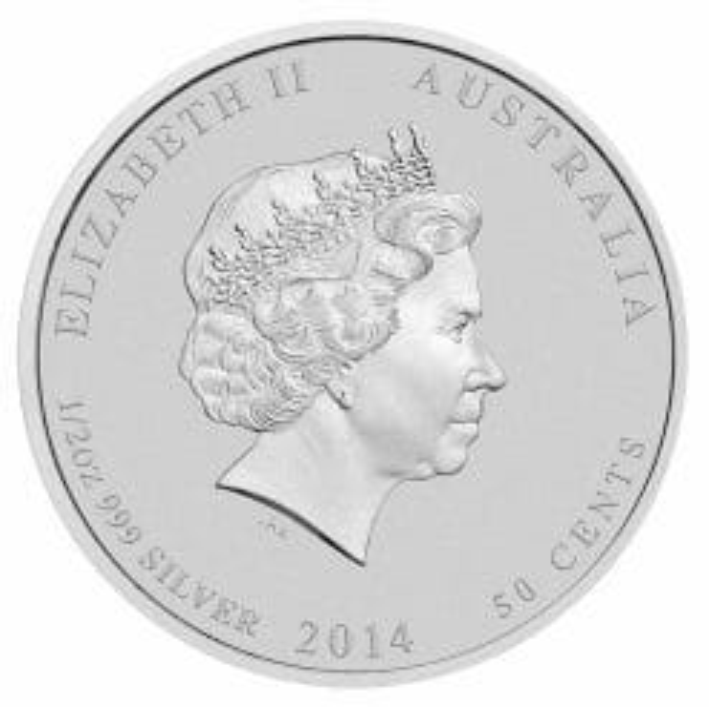 2014 Battle of the Coral Sea 1/2oz .999 Silver Bullion Coin 5