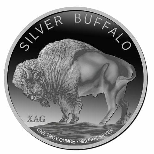 2013 Buffalo 1oz .999 Silver Bullion Coin 1