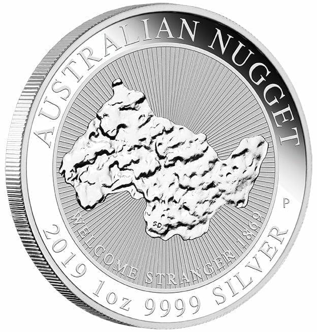2019 Welcome Stranger 1oz .9999 Silver Bullion Coin 2