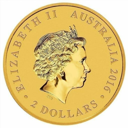 2016 Mini Roo 0.5g .9999 Gold Coin in Card 4