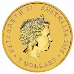 2016 Mini Roo 0.5g .9999 Gold Coin in Card 7