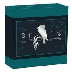 2019 Australian Kookaburra 5oz Silver Proof High Relief Coin 9