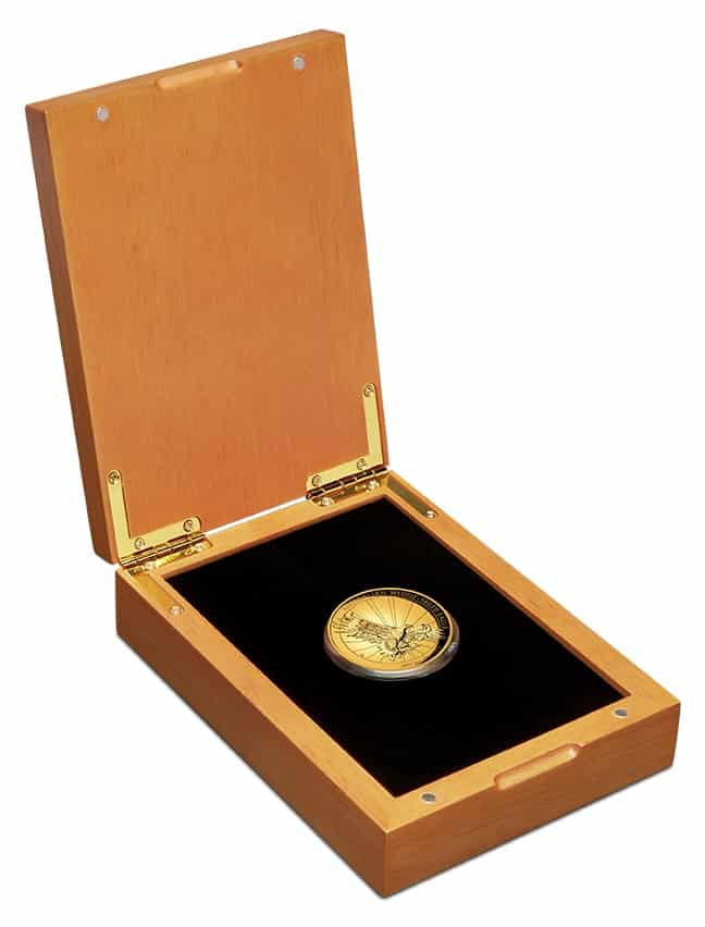 2019 Australian Wedge-Tailed Eagle 2oz Gold Proof High Relief Coin 2