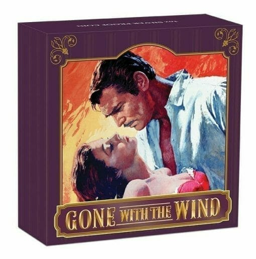 2019 Gone with the Wind 80th Anniversary 1oz Silver Proof Coin 2