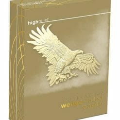 2019 Australian Wedge-Tailed Eagle 2oz Gold Proof High Relief Coin 9
