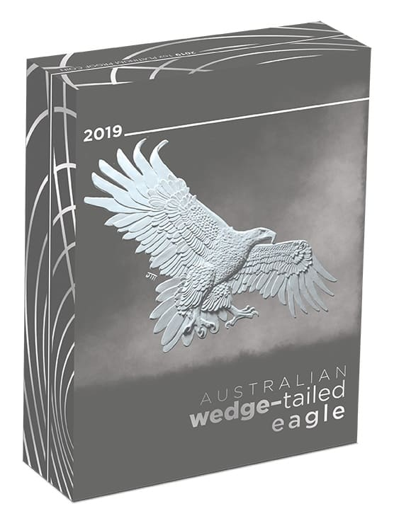 2019 Australian Wedge-Tailed Eagle 1oz Platinum Proof Coin 5