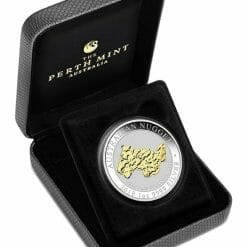 2019 Welcome Stranger Gilded 1oz Silver Proof Coin 7