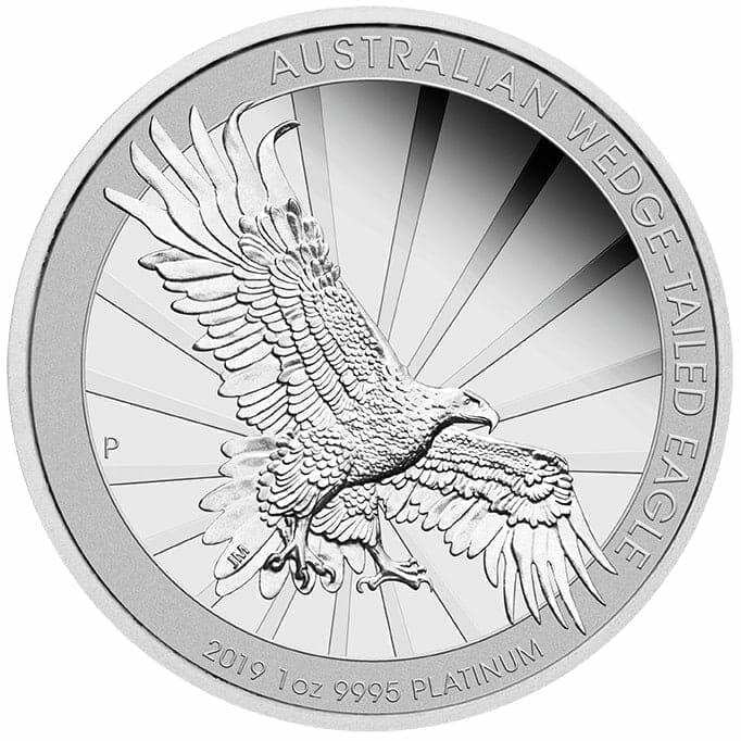 2019 Australian Wedge-Tailed Eagle 1oz Platinum Proof Coin 1