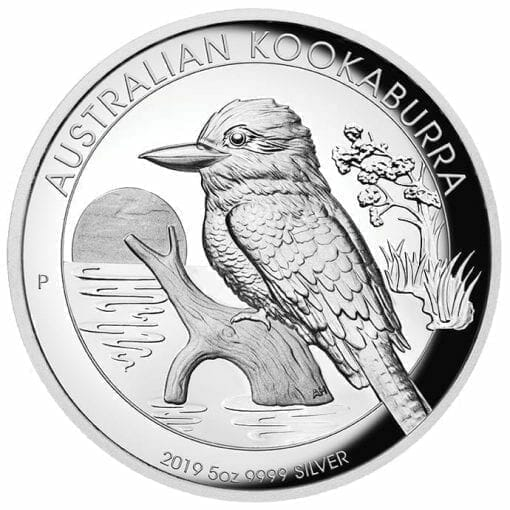 2019 Australian Kookaburra 5oz Silver Proof High Relief Coin 1