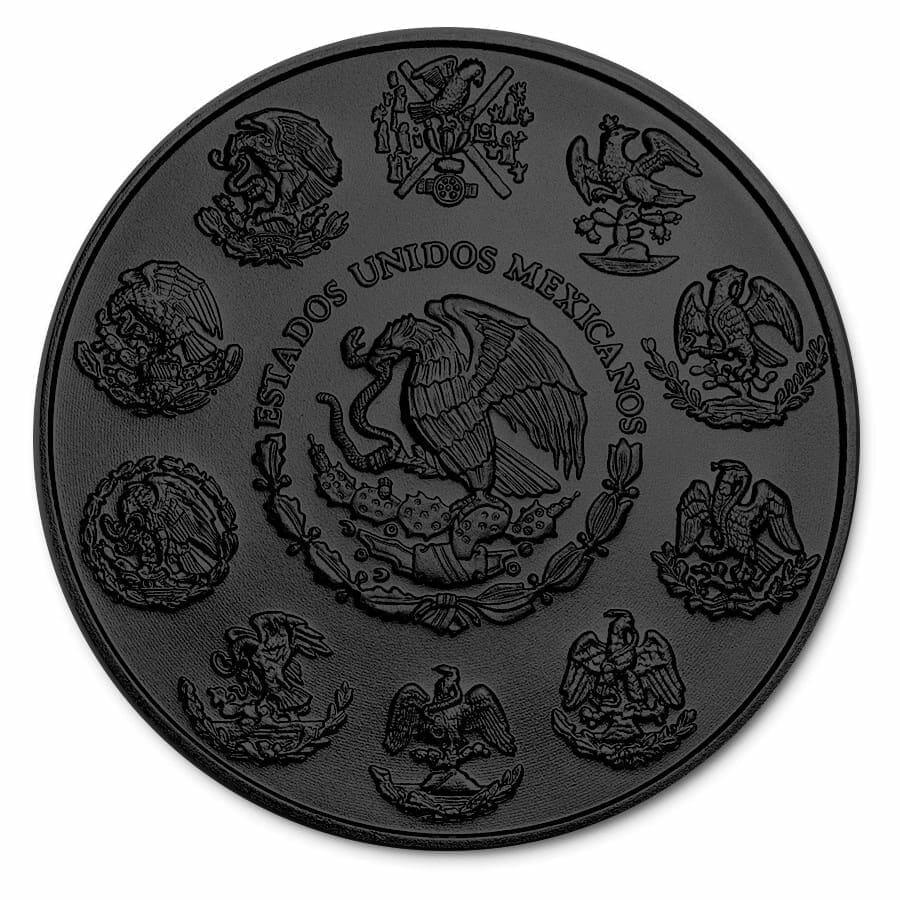 2018 Dia De Los Muertos / Day of the Dead Mexican Libertad 1oz Silver Coin 4