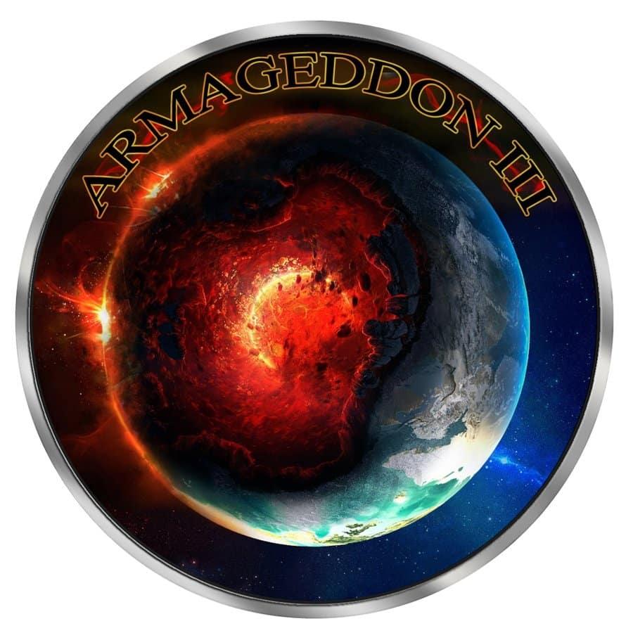 2018 Armageddon III Grim Reaper - Maple Leaf 1oz Silver Coin 2