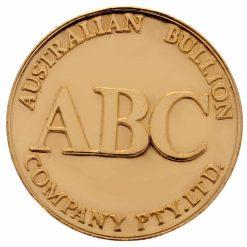 ABC 1/2oz .9999 Gold Cast Bullion Round 3